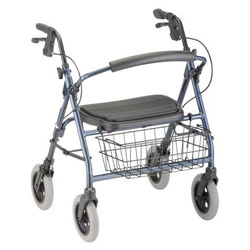 MINI MACK HEAVY DUTY ROLLING WALKER