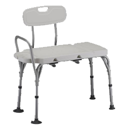 DELUXE TRANSFER BENCH WITH BACK