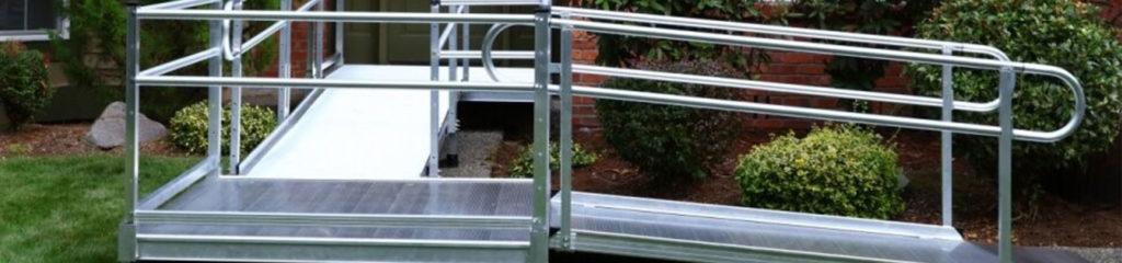 Semi-permanent ramp